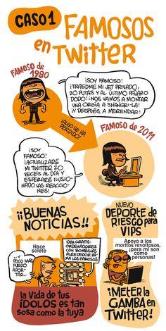Famosos en Twitter por Monteys 1 #socialmedia #humor
