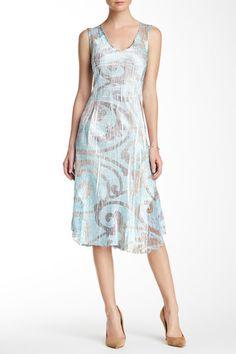 V-Neck Dress (Petite)