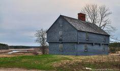 McIntyre Garrison House, York, Maine, 1640