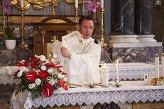 irish wedding priest certificate pope rome