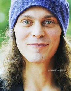 Ville Valo. I know it's not a popular opinion, but I think he looks so much better without all that eyeliner on.