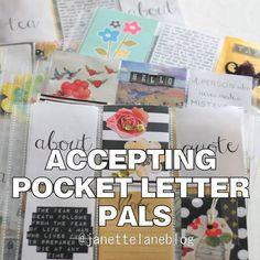 Janette Lane: Pocket Letter Pals Wanted