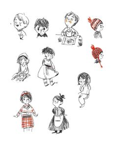 Sketchbook - Ella Bailey Illustration