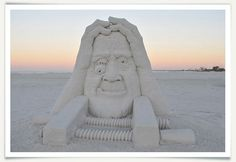 http://www.fmbsandsculpting.com/ Sand sculpture from the American Sandsculpting Championship held every year on Fort Myers Beach, FL