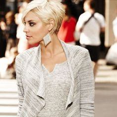 loving the shape of this short cut