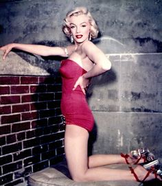 Marilyn Monroe in a promotional photo for, 'How To Marry A Millionaire', 1953.