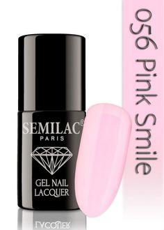 Semilac 056 Pink Smile UV&LED Nagellack. Auch ohne Nagelstudio bis zu 3 WOCHEN perfekte Nägel!