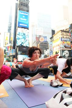 Lucy(R) Summer Solstice 2011 by Times Square NYC, via Flickr