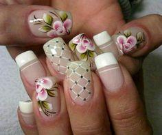 Mooie nagels voor de lente/beautyful spring nails