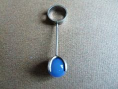 Vintage kinetic silver pendant by top by VintageDesignSilver