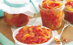 Easy and inexpensive to make, this relish is delicious served with barbecued chicken or grilled beef. It also makes a wonderful homemade gift.