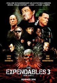 Recent Movies: The Expendables 3(up coming film 2014)