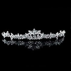 Women's+Alloy+Headpiece+-+Wedding/Special+Occasion+Tiaras+–+GBP+£+5.59