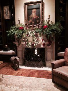 Providence Ltd. Printable Christmas Cards, Christmas Greeting Cards, Christmas Fireplace Mantels, Fireplace Mantles, Cozy Fireplace, Christmas Tree Decorations, Christmas Trees, Merry Christmas, Christmas Houses