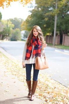 Ways to Wear Your Winter Scarf - Wrap around.