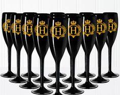 Taças Champagne Acrílicas Personalizadas