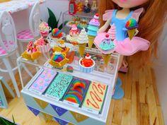 Bespoke Ice cream counter with new scoops by LittlestSweetShop.deviantart.com on @deviantART