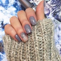 Beautiful gel polish for manicure, Beautiful nails 2016, Beautiful winter nails…