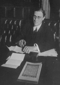 In 1911 Franklin D. Roosevelt began his term in the New York State Senate