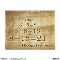 Fibonacci Golden Ratio, Divine Proportion, E Mc2, Science, Sacred Geometry, Geometry Art, Custom Posters, Knowledge, Serie Fibonacci