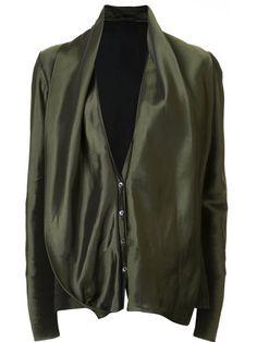 Shoppen Haider Ackermann Drapierte Oversized-Bluse von L'Eclaireur aus den weltbesten Boutiquen bei farfetch.com/de. In 400 Boutiquen an einer Adresse shoppen.