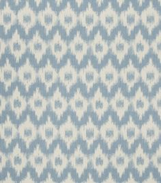 Upholstery Fabric-French General Cecilia Bleu