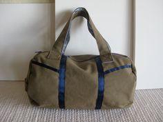 Duffle bag.
