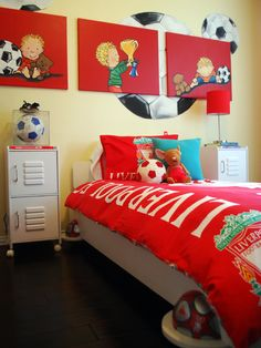 Kids Design, Pictures, Remodel, Decor and Ideas - page 61  american football?