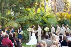 Pine Hill wedding venue in San Diego at Paradise Point Resort & Spa. #WeddingVenues
