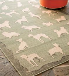 Dog Walk Rug is perfect for pets and families - use indoors or out and just hose clean. Easy!