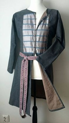 Viking caftan coat viking garment for men by Nyfrid on Etsy
