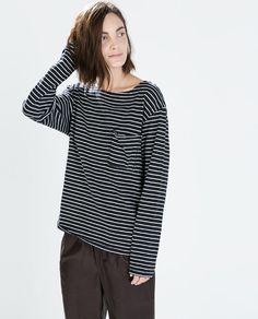 ZARA - WOMAN - STRIPED T-SHIRT