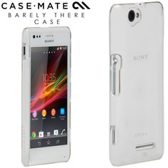 Case-Mate Barely There Case for Sony Xperia M Introducing the ultimate show off. The Barely There case covers and protects, while showing off more of the phone.