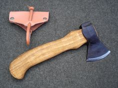 Great looking backpack axe from S. Djärv Hantverk AB in Avesta Sweden. This beauty is about 9.8-inches long and about $85 US.