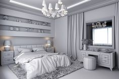 Choose a colour palette to tie your #loftconversion bedroom together