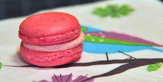 Sommerdrøm 3: Makroner med jordbær og vanilje