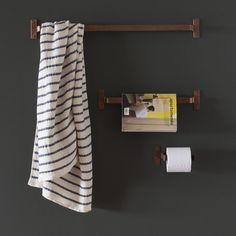 Copper Towel Bar