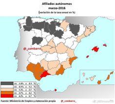 Autonomos por provincias