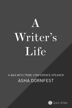 """New writers are too worried that it has all been said before. Sure it has, but not by you."" —Asha Dornfest http://goinswriter.com/asha-dornfest/"