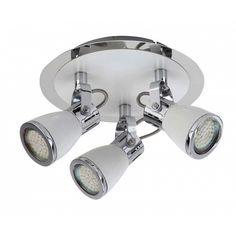 Αν ενδιαφέρεστε για αυτό το προϊόν επικοινωνήστε μαζί μας LED+Φωτιστικό+Σποτ+με+Λαμπτήρα+3+Χ+GU10 Led, Track Lighting, Ceiling Lights, Home Decor, Ceiling Lamps, Interior Design, Home Interior Design, Ceiling Fixtures, Ceiling Lighting