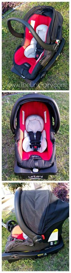 Urbini Sonti car seat part of the Emi Travel System. #Urbini #IC #Sponsored