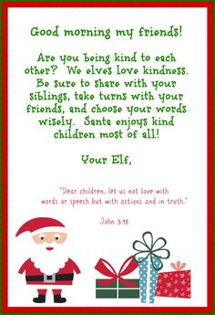 Christian ideas (with complementing Bible verses) to use with Elf on the Shelf. Great idea rather than Elf always doing mischief!