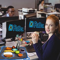 PSA: Not Just For Kids! The functional, heavily insulated FlatBox is GREAT for eating your lunch at your desk or whatever surface your busy, adult-life has to eat off of! Just Kidding, Surface, Desk, Lunch, Kids, Food, Young Children, Children, Table Desk