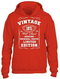 well aged original parts limited edition 1971 HOODIE