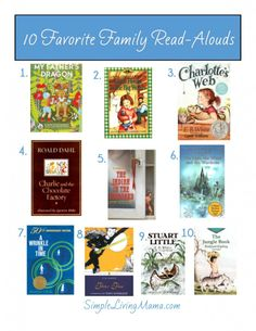 10 awesome family read-alouds!