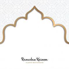 Beautiful ramadan kareem design with mandala vector Ramadan Background, Festival Background, Eid Mubarak Background, Cherry Blossom Background, Pink And White Background, Pink Mosque, Motif Arabesque, Design Mandala, Islamic Art Pattern