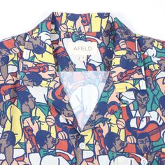 Image of Afield Selleck S/S Shirt Fiesta