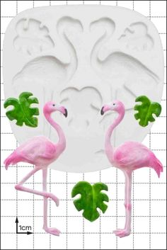 Silicone Mould Flamingos | Food Use Fpc Sugarcraft Free Uk Shipping! #ebay #Home & Garden