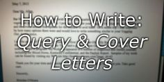 "Cover letters are usually sent with submissions, either to publishers or agents. They're intended to say something about the item you're submitting and about you as a writer and person. However, for something that sounds simple, they can be surprisingly annoying to get right. Here's some advice from Joanne Hall, who is submissions editor for Grimbold Books and sees a lot of cover letters. Take it away, Jo! First of all, I should say that there's a difference between the standard ""cover…"