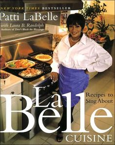 LaBelle Cuisine: Recipes to Sing About (P1/S3)   If you like soul food I suggest you give this book a good read over. Oooooh honey this woman cooks like your crazy church aunt. You know the one. Lol